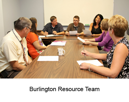 Burlington Resource Team